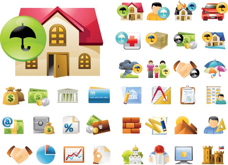 free vector Many icon